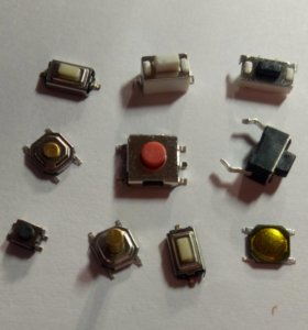 Кнопки брелков автосигнализации