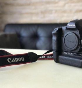 Canon 5D mark II + батарейный блок
