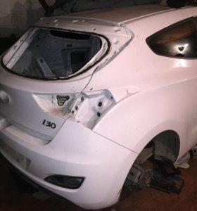 Разбираю Hyundai i30 купе с 2012 г.в.