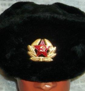 Шапка черная ВМФ с кокардой