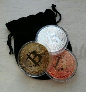 3 Bitcoin сувенир в мешочке с доставкой