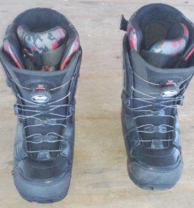 Ботинки для сноуборда ride безшнурковые