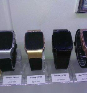 Часы- телефон gps wonlex ew100