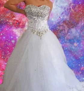 Свадебное платье НОВОЕ ( ни разу не одевалось)