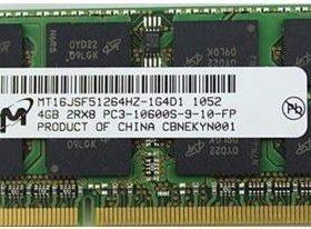 Оперативная память 4 Гб для ноутбука