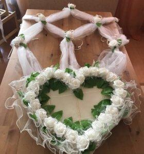 Свадебный набор для машины