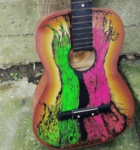 Роспись гитары