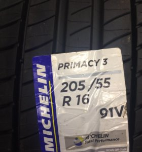 Michelin Primacy 3. 205/55 R16