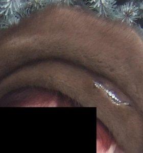 Берет норковый
