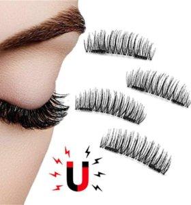 Новые магнитные ресницы magnetic lashes с 4 магнит