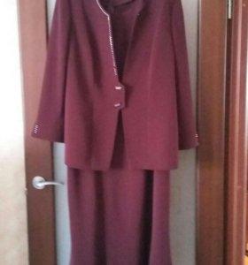 Костюм женский (платье и пиджак)