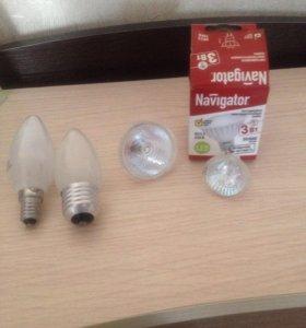 Лампочки новые