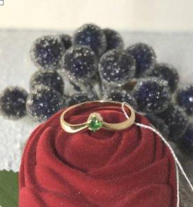 Кольцо 585пр 1.7гр с маленьким камнем