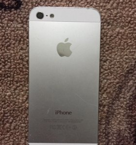 корпус оригинал на Apple iPhone 5 Белый