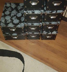 Коробки для хранение! Цена за 10 шт.
