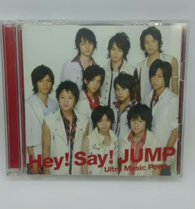Hey!Say!JUMP сингл Ultra Music Power cd+dvd