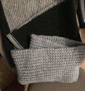 2 шарфа «хомут»