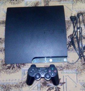 Sony Playstation 3 Slim 500 Gb. Прошитая.