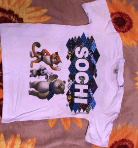 Новые футболки на подростка