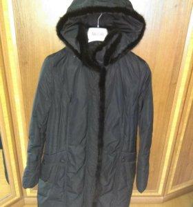 Пуховик пальто новый