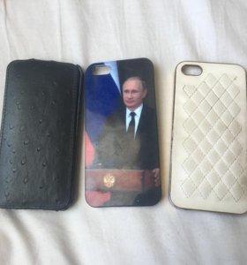 Чехлы айфон 5s