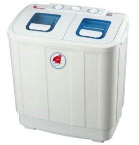 Новая стиральная машинка Ассоль на полуавтоматике