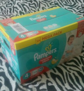 Трусики Памперс коробка новая