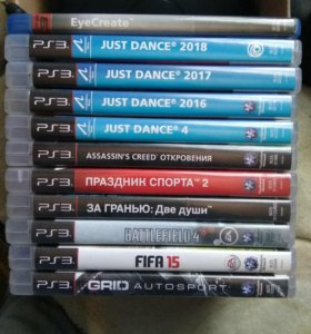 Продаю игры на PS3