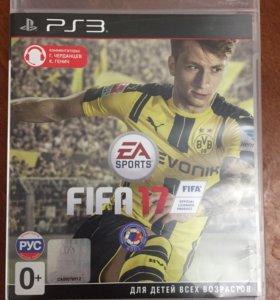 Диск на PS3 FIFA 17