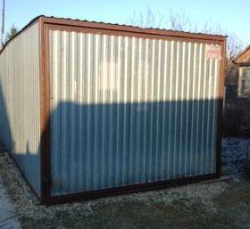 Надежное укрытие для автомобиля - гараж.