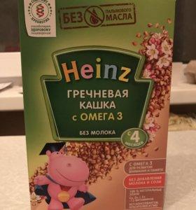 Детская каша Heinz бесплатно