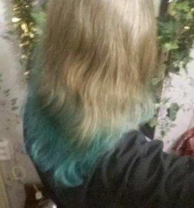 Покраска волос, безвредно