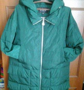 Курточка.Демисезон 48 размер