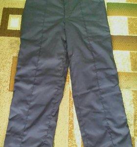 Зимние утепленные штаны