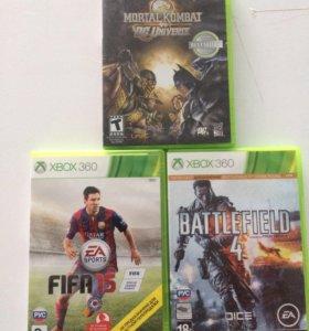 Лицензионные игры на Xbox 360