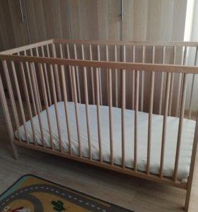 Детская кроватка из икеа