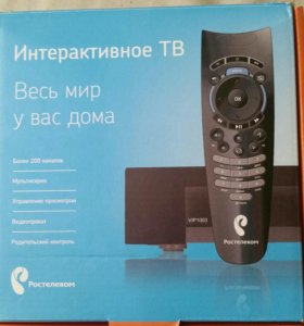 Интерактивную ТВ Ростелеком