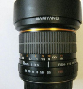 объектив SAMYANG FISH - EYE CS