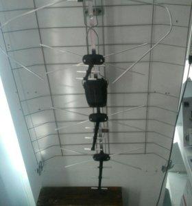 Антена на 20 каналов.Польша
