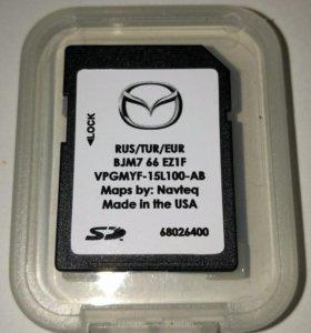 Навигация Mazda 3, Mazda 6, Mazda CX-5, Mazda CX-9