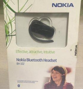 Минигарнитура Nokia Bluetooth