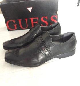 Ботинки Guess (натуральная кожа)