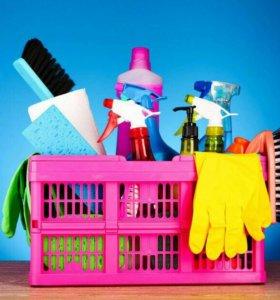 Уборка квартир!!!
