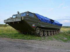 Гусеничный плавающий транспортер ПТС-М