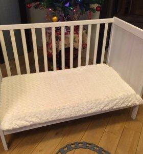 Кровать и матрас Икеа 0-2