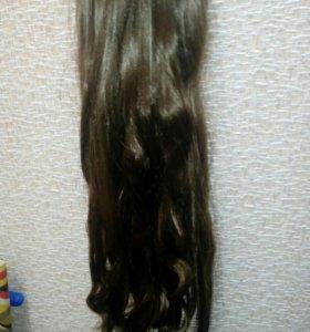 Новые! Натуральные волосы на заколках