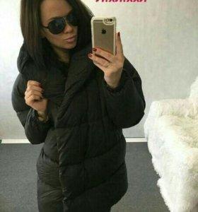 Новая зимняя куртка женский пуховик зима