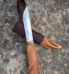 Норвежский Нож в саамских ножнах