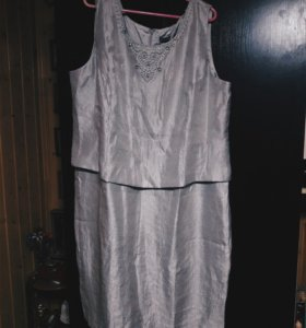 Платье большой размер
