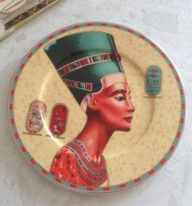 Тарелка декоративная, Египет